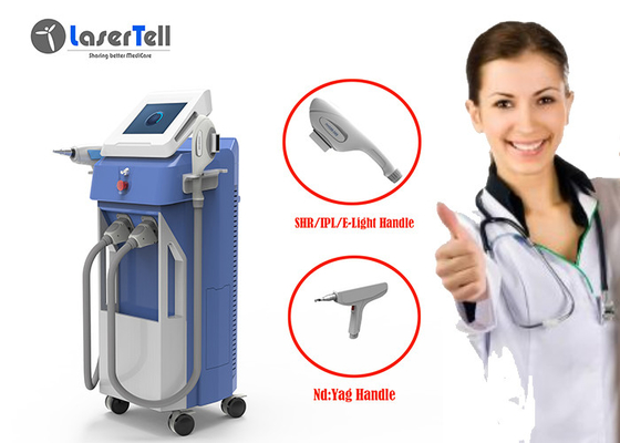 OPT IPL SHR Hair Removal Machine Weight Lossing 1 - 10Hz Pulse Repetition Rate